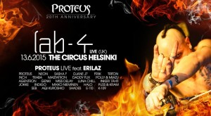 Lab 4 Live, Proteus 20th anniversary